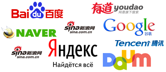 search engine optimization chinese japanese korean russian