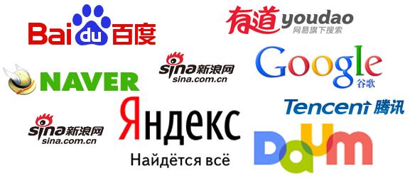 Traduction référencement chinois japonais coréen russe
