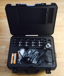 Portable interpretation equipment Carry Case