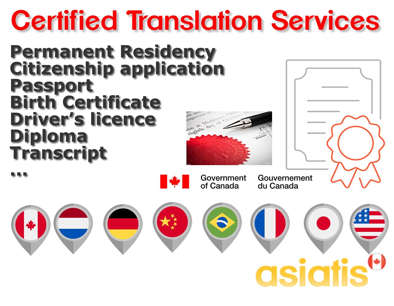 Certified translator Montreal 1