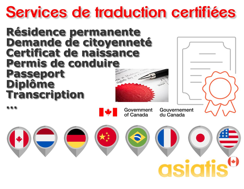 Traducteur certifié Montréal Toronto Ottawa 1
